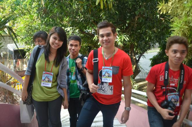 Here's a pic of some Archies wearing their Chibi David/Totoro name tags.